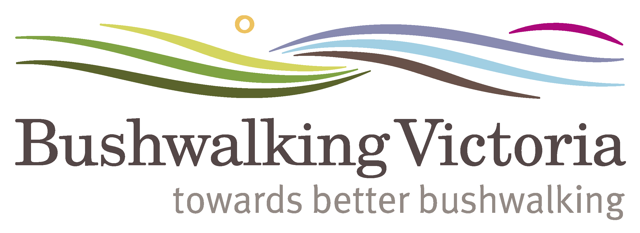 Bushwalking Vic logo with tagline 2 for websites